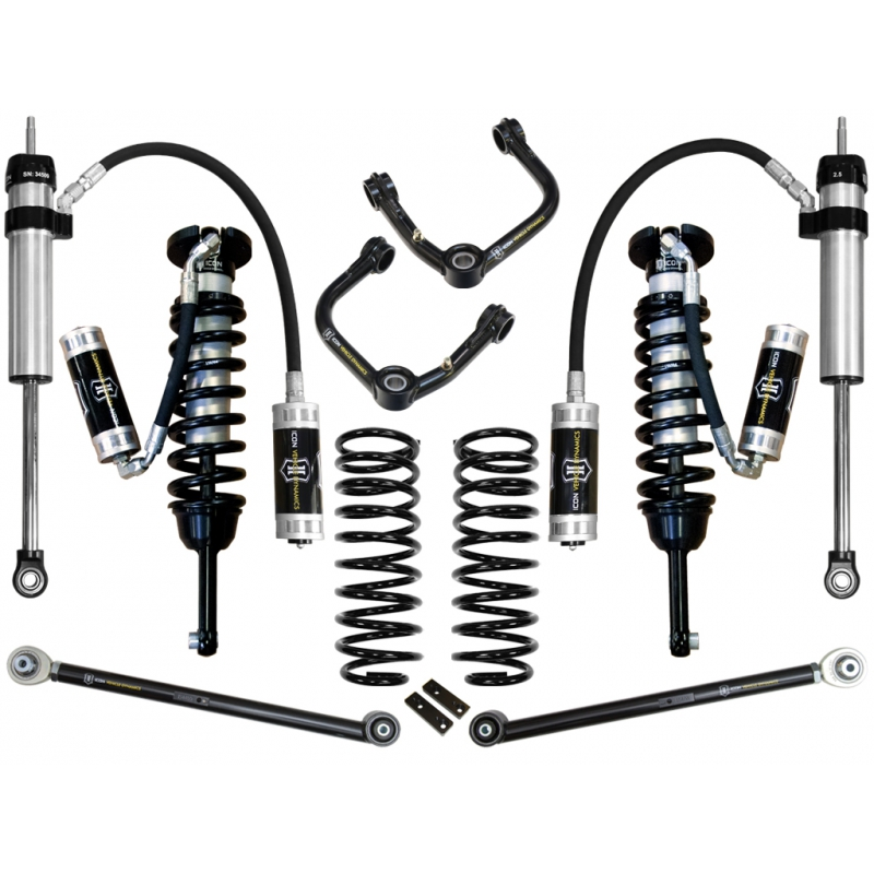 Icon 2010-UP Toyota 4Runner 0-3.5 inch Suspension System - Stage 5 (Tubular)