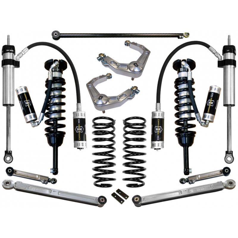 Icon 2010-UP Toyota 4Runner 0-3.5 inch Suspension System - Stage 6