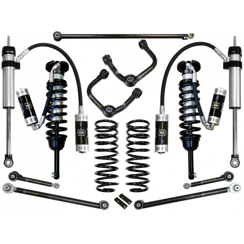 Icon 2010-UP Toyota 4Runner 0-3.5 inch Suspension System - Stage 6 (Tubular)