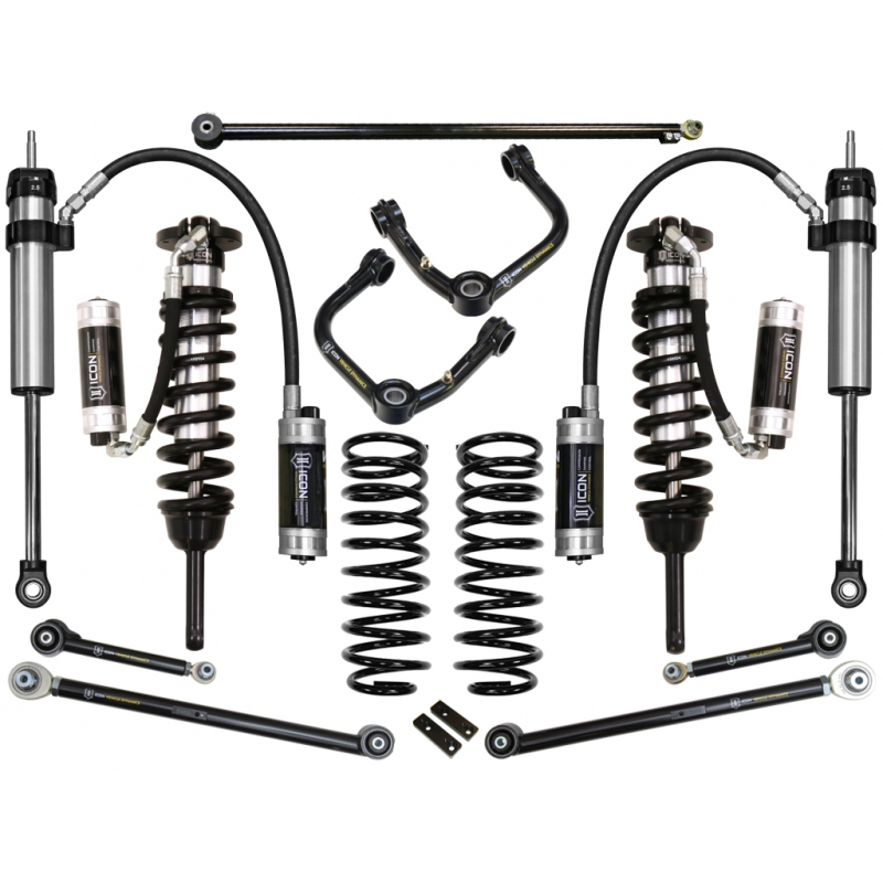 Icon 2010-UP Toyota 4Runner 0-3.5 inch Suspension System - Stage 7 (Tubular)