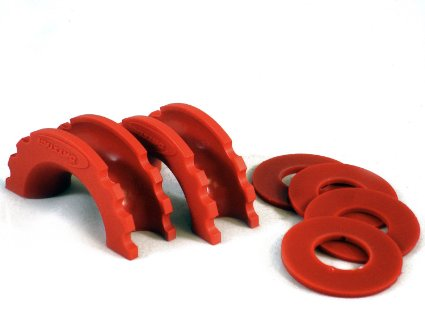 Daystar D-Ring Isolator - RED