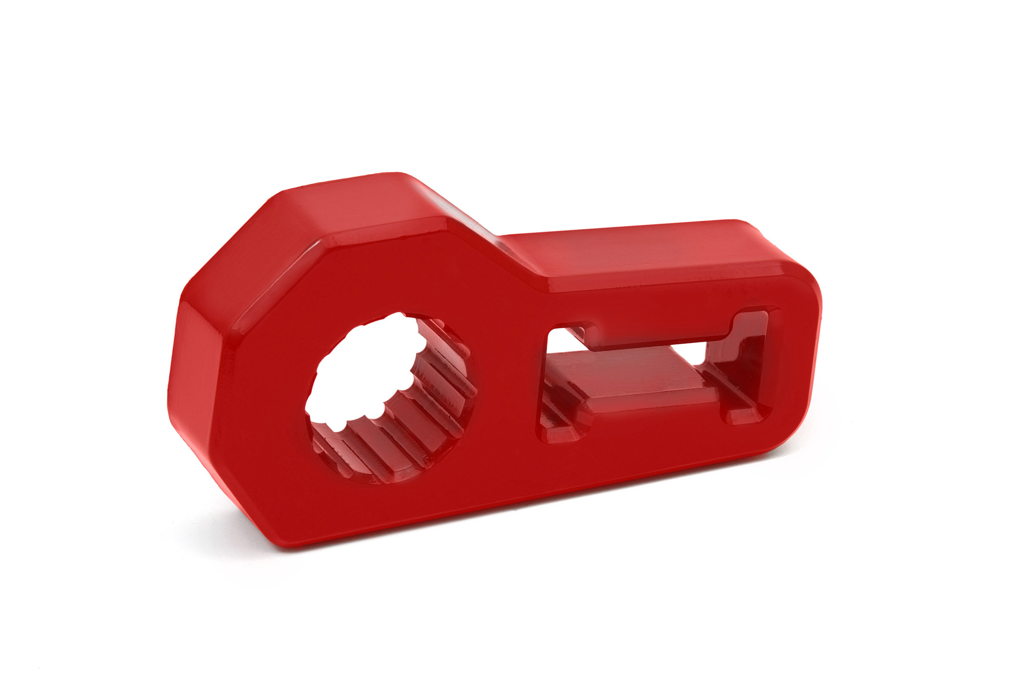 Jack Handle Isolator by Daystar - RED