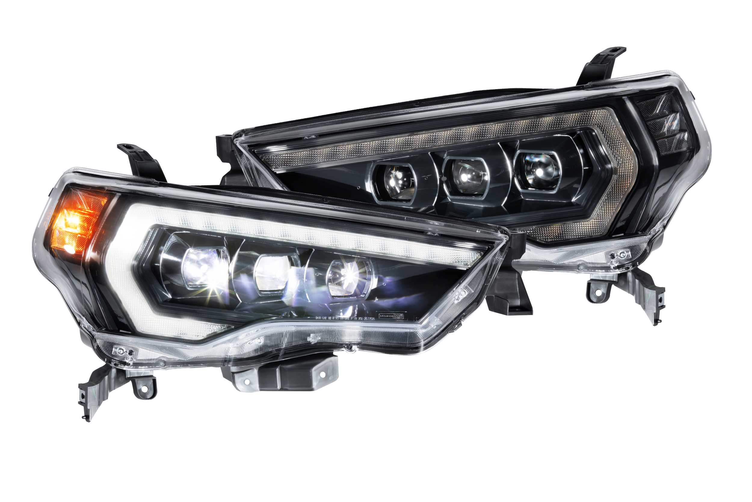 Morimoto XB LED Projector Headlights: Toyota 4Runner 2014-2020