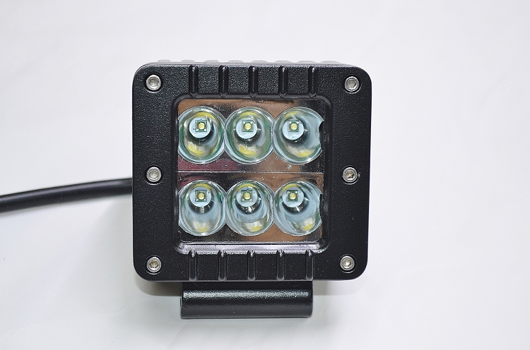 Lifetime LED Lights 3 inch Square 24W