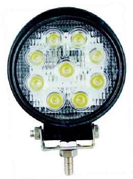 Lifetime LED Lights 4.5 inch Round 9-LED