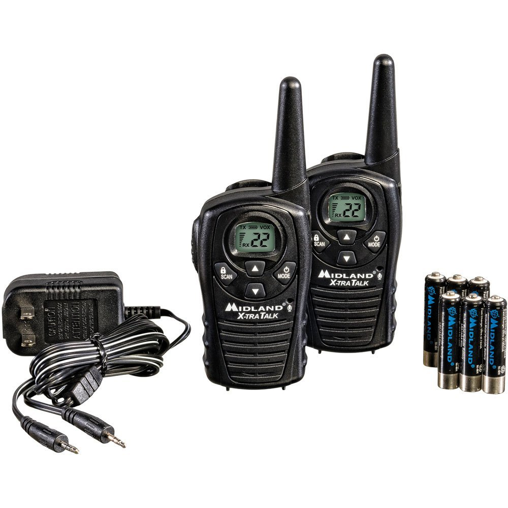 Midland LXT118VP Up to 18 Mile Two-Way Radio
