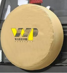 Warrior Products Universal WP Logo 28″ Tire Cover 28&#8243