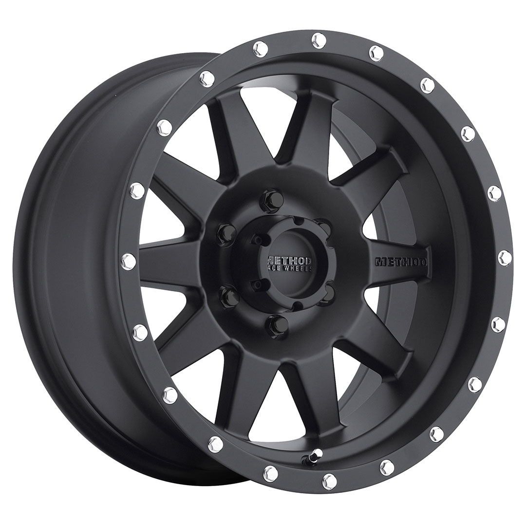 Method 301 Matte Black 18x9