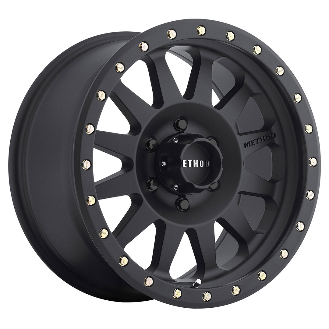Method 304 Matte Black 16x8