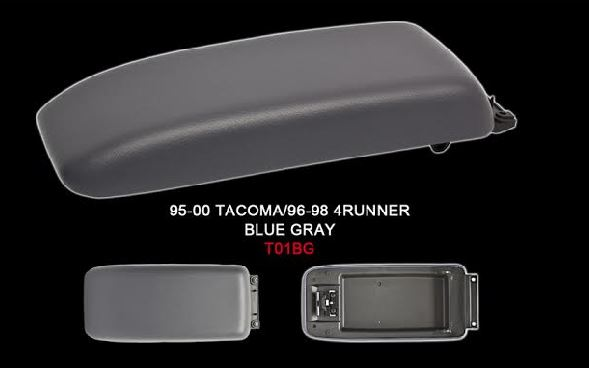 4Runner Front Center Console Lid 96-98 Blue Grey