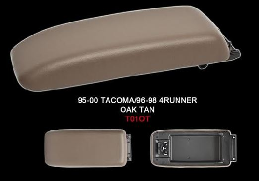 4Runner Front Center Console Lid 96-98 Oak Tan