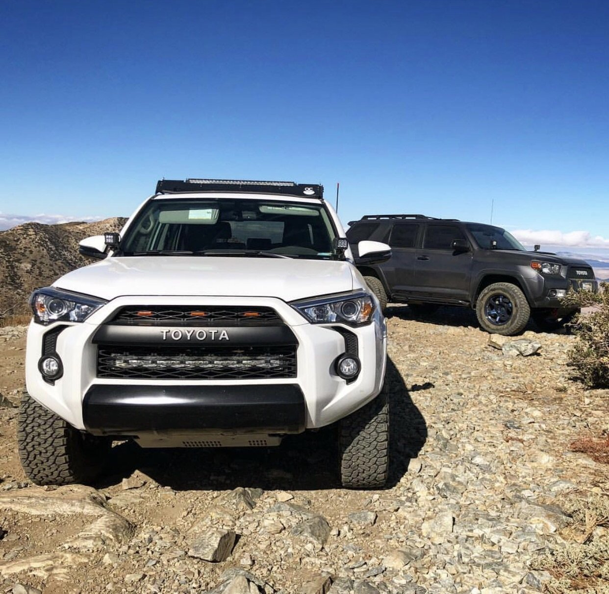 Rago 2014-2018 4Runner Hidden Bumper Brackets- Stainless Steel