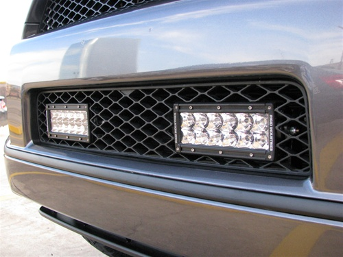 "6"" E Series LED Light Bar Spot Pattern"