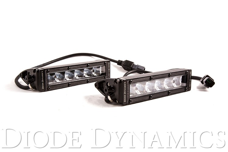 SS6 Stage Series 6 inch White Light Bar (pair)