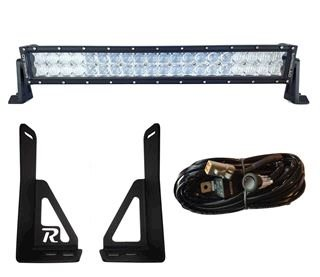 "T4R 5th Gen Grille Kit with 30"" 5D Dual Row LED Light Bar"