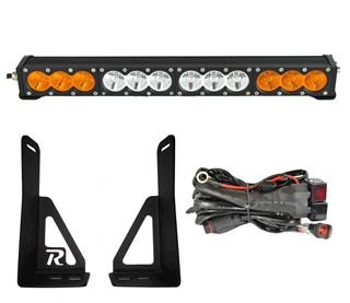 T4R 5th Gen Grille Kit with 32 inch X6 LED Light Bar