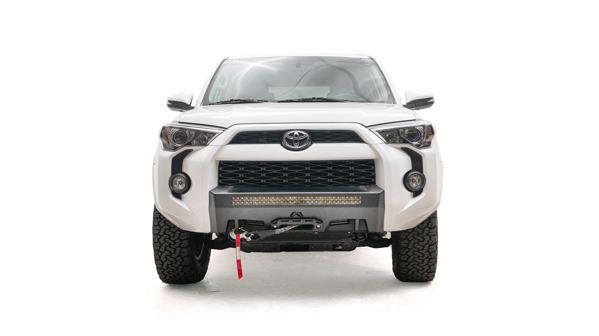 Fab Fours Hidden Winch Mount; NO GUARD; 2014+ 4Runner