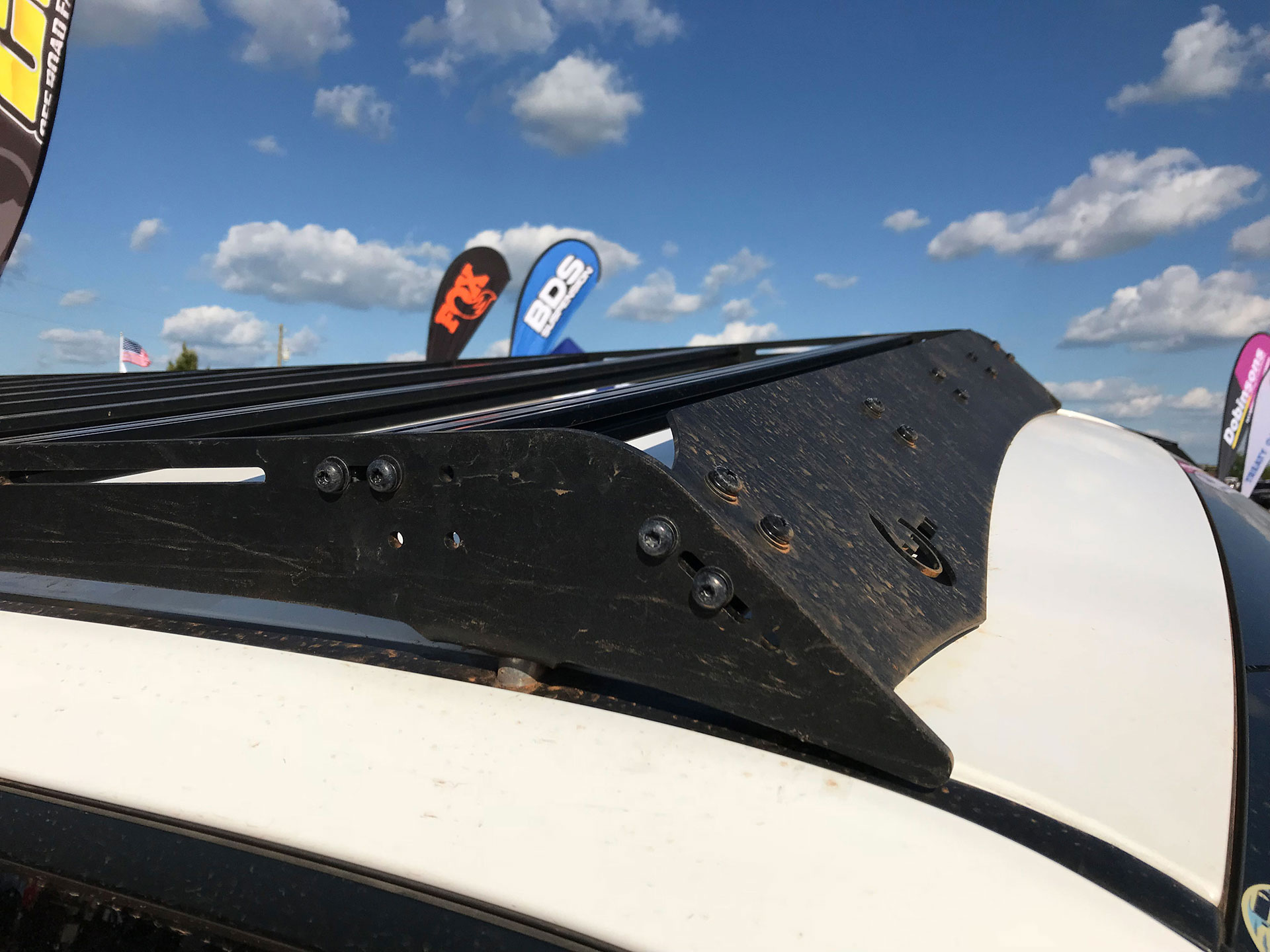 PrInSu Toyota 4Runner RoofRack FULL - NO DRILL- 2010+