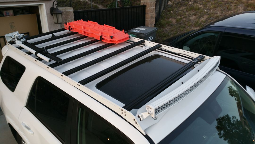 Prinsu Toyota 4runner Roof Rack Full No Drill 2010 T4r5 Rr Nd 899 99 Pure 4runner 5th Gen 4runner Mods And 4runner Accessories