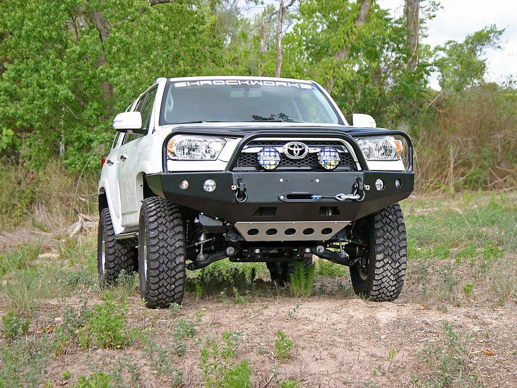 Shrockworks 4Runner Front Bumper, 5th Generation 2010+