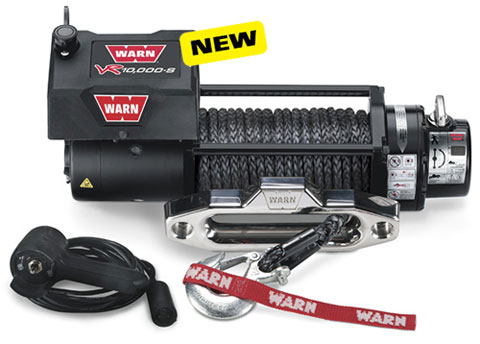 Warn VR10000-s Winch w/Synthetic Rope