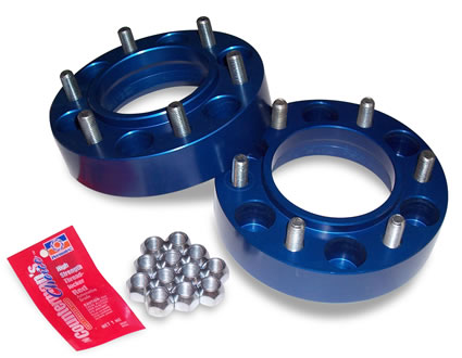 SpiderTrax 1.25 inch Thick Wheel Spacers