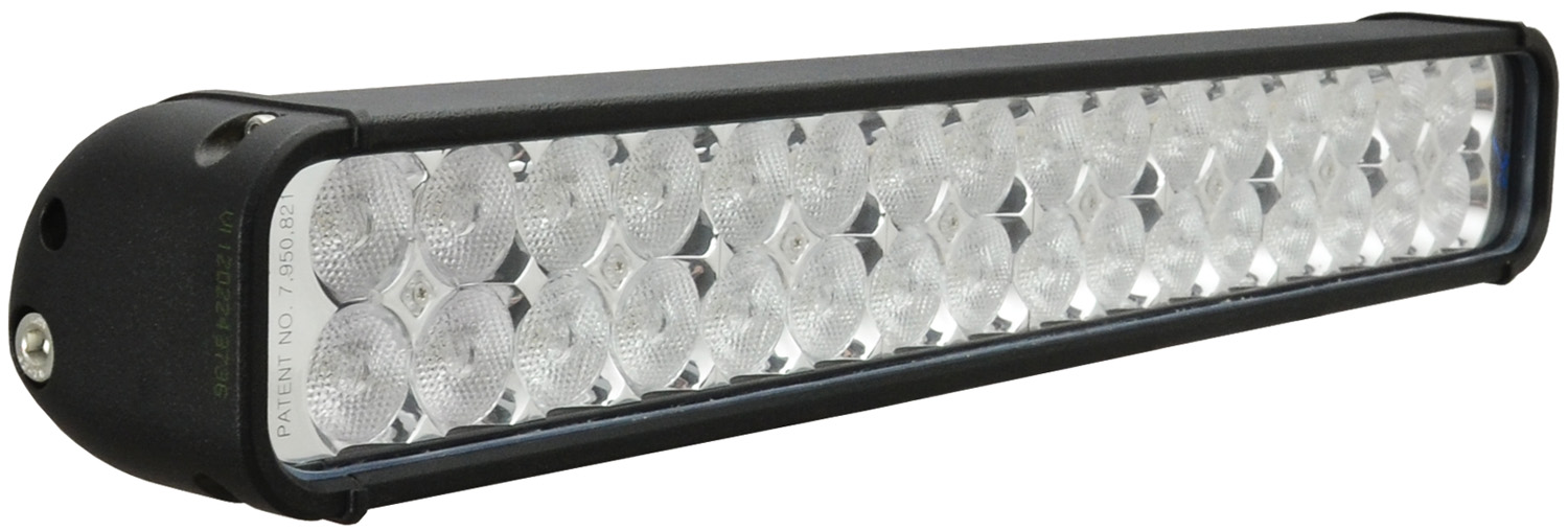 "18"" XMITTER LED BAR BLACK 32 3W LED'S FLOOD"