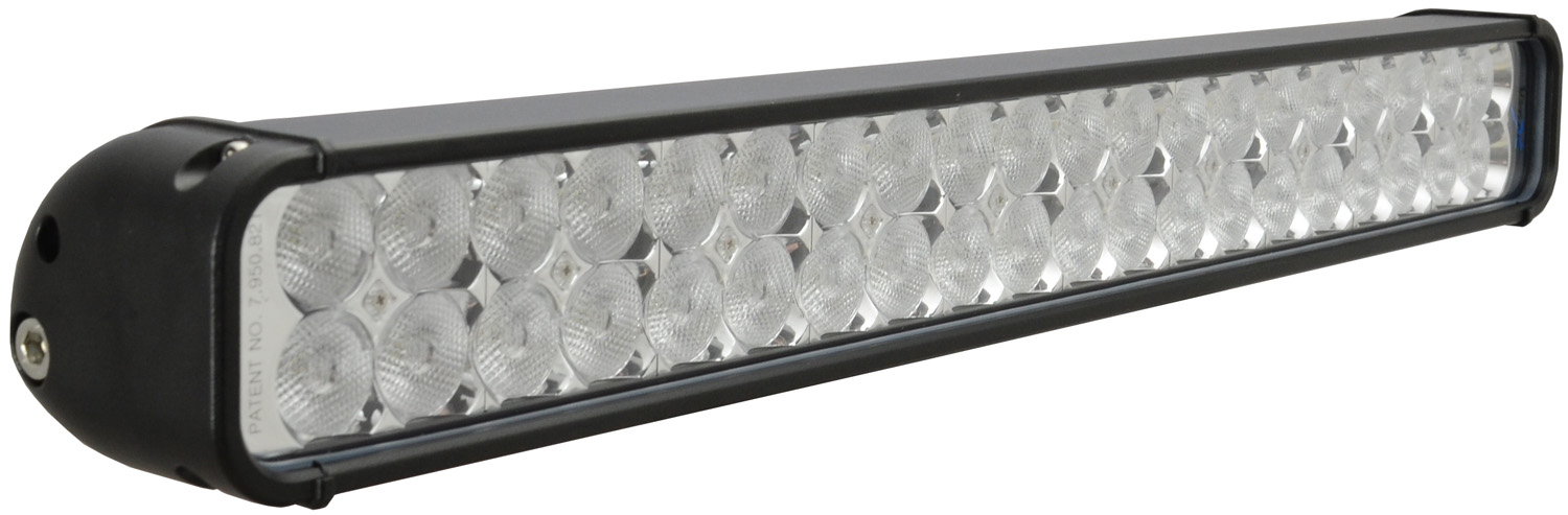 "22"" XMITTER LED BAR BLACK 40 3W LED'S FLOOD"