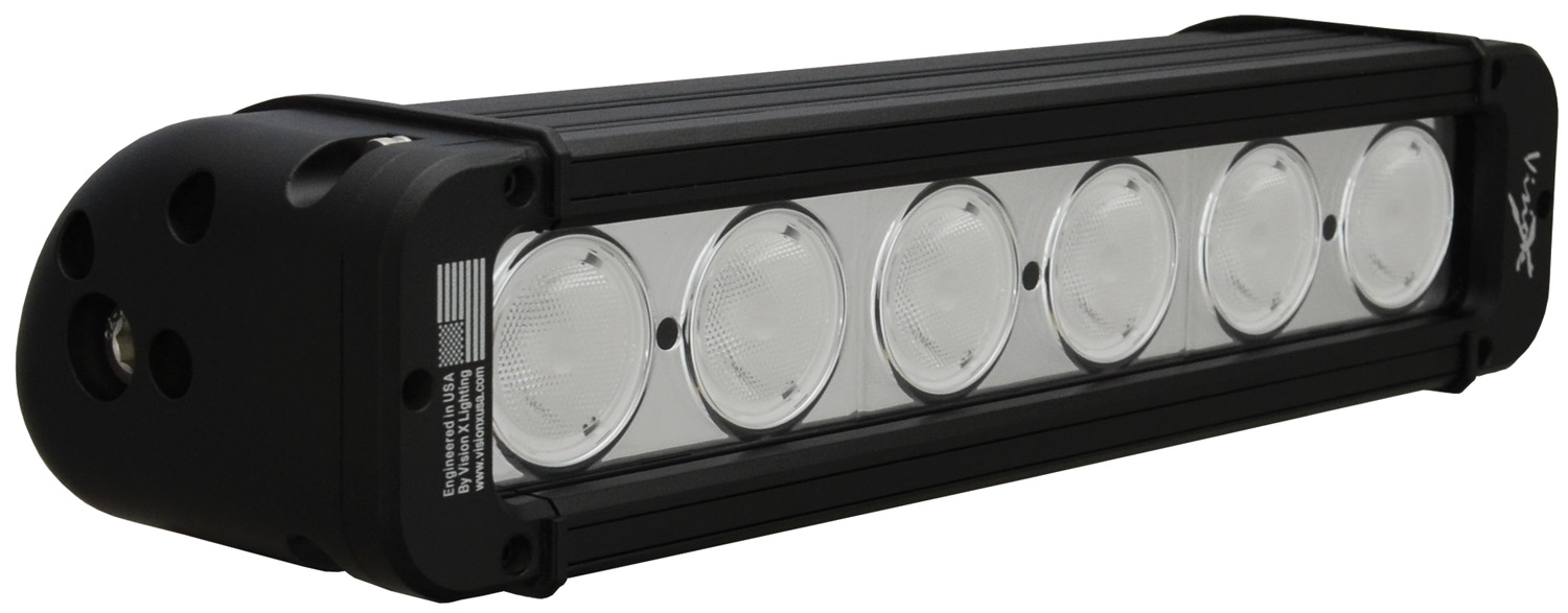 11 inch EVO PRIME LED BAR BLACK 6 10W LED'S WIDE