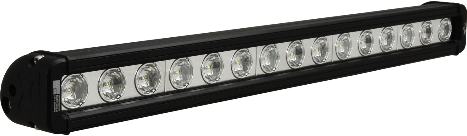 "20"" XMITTER LOW PROFILE BLACK 15 3W LED'S 10ç NARROW"