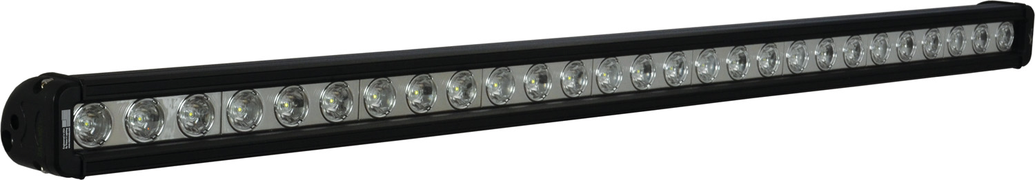 35 inch XMITTER LOW PROFILE BLACK 27 3W LED'S 10ç NARROW