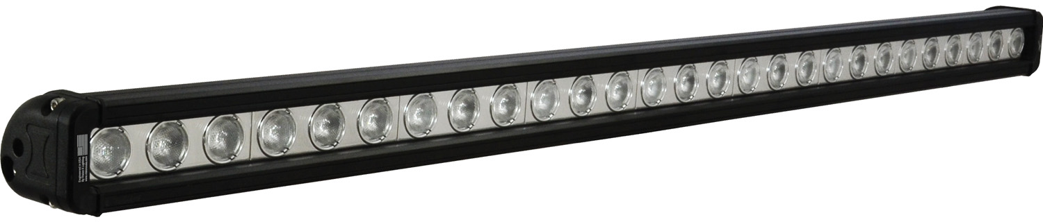 "35"" XMITTER LOW PROFILE BLACK 27 3W LED'S 40ç WIDE"