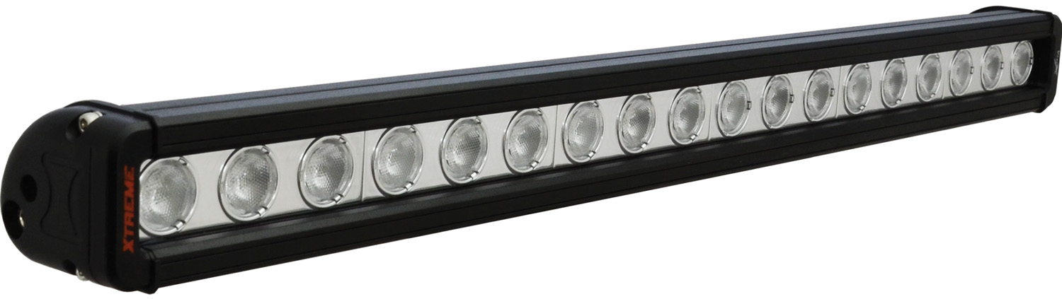 24 inch XMITTER LOW PROFILE XTREME BLACK 18 5W LED'S 40ç WIDE