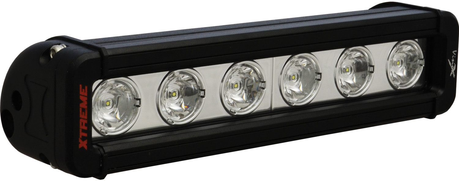 "9"" XMITTER LOW PROFILE BLACK 6 5W LED'S 10ç NARROW"