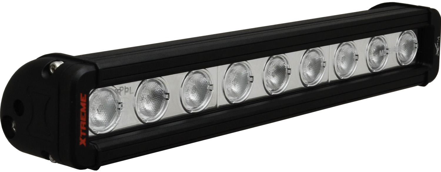 12 inch XMITTER LOW PROFILE XTREME BLACK 9 5W LED'S 40ç WIDE