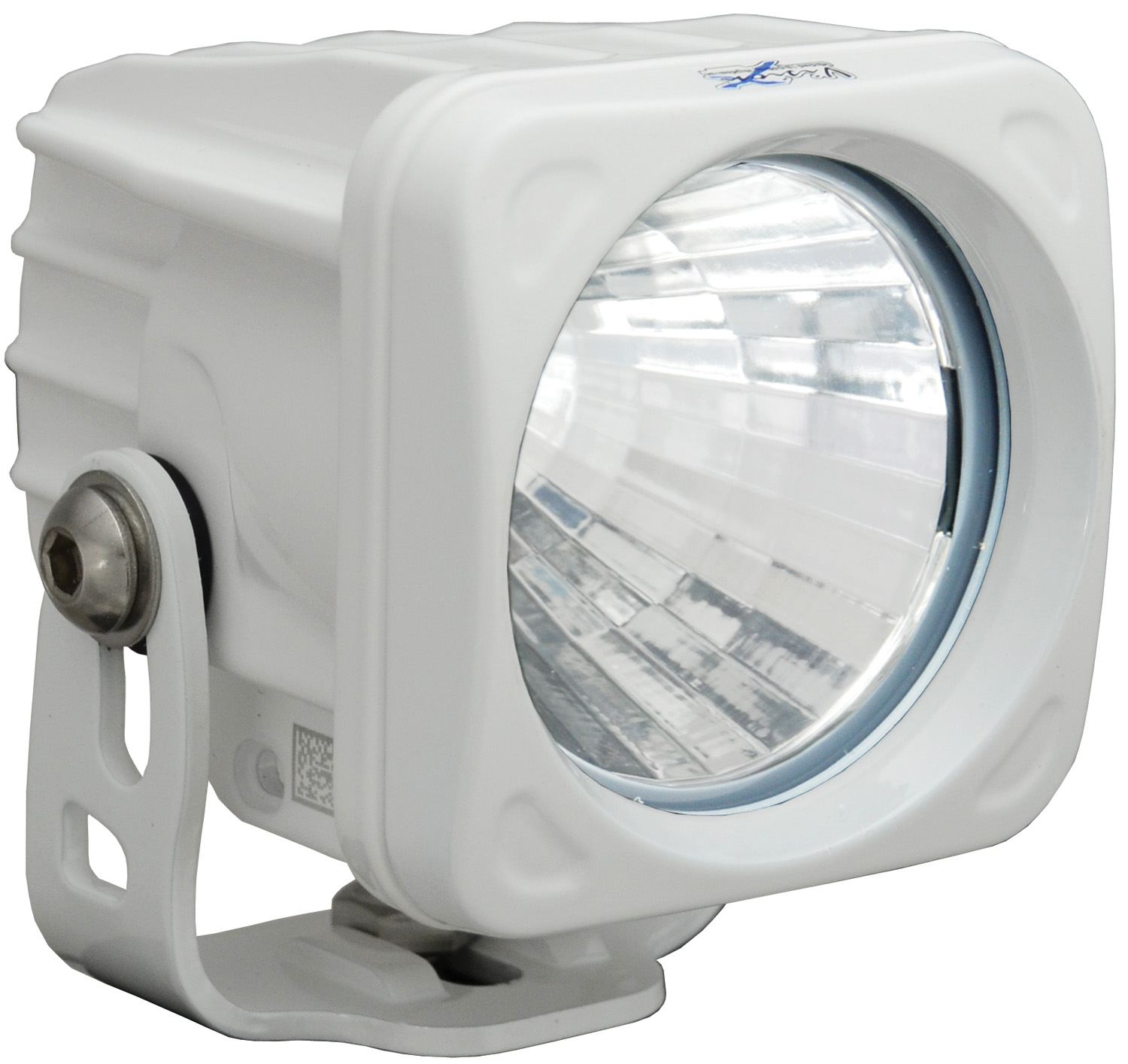 OPTIMUS SQUARE WHITE 1 10W LED 20° MEDIUM