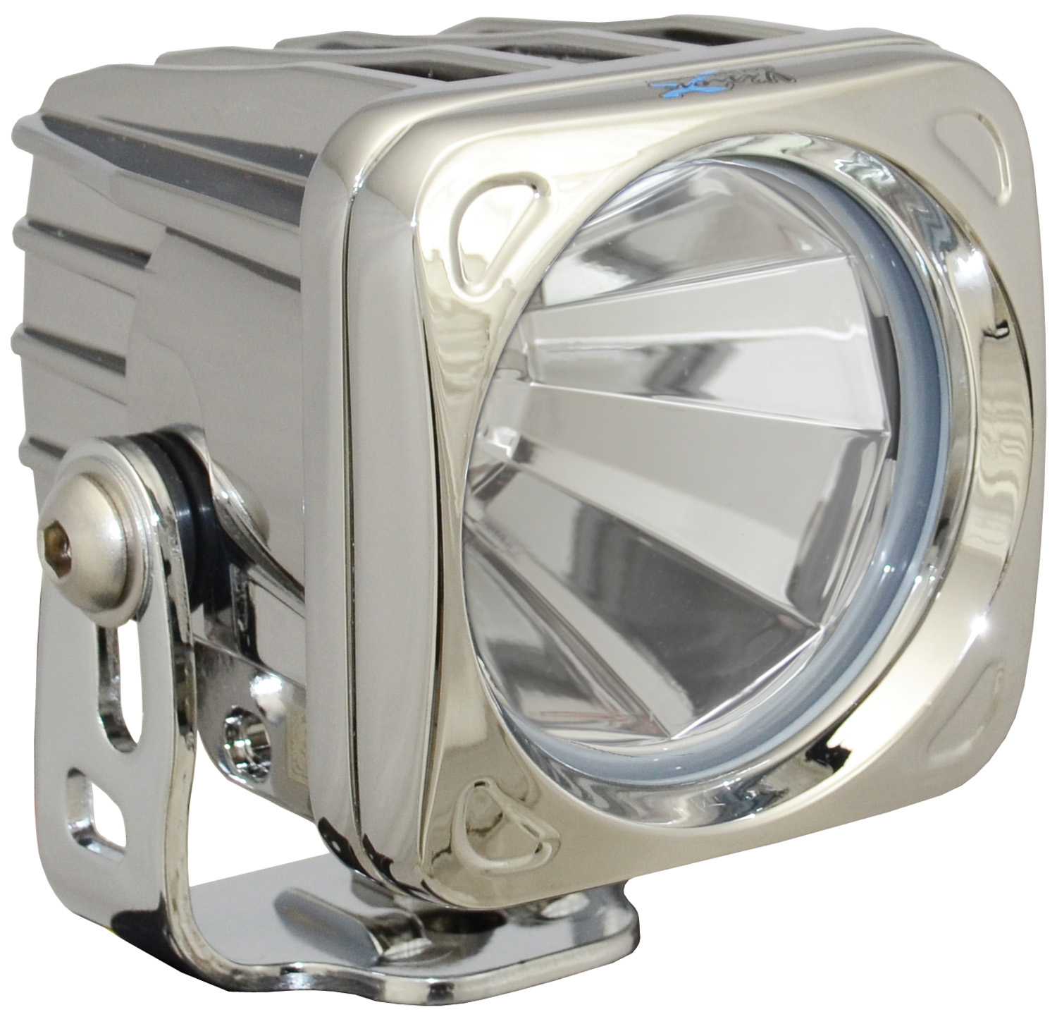 OPTIMUS SQUARE CHROME 1 10W LED 60° FLOOD