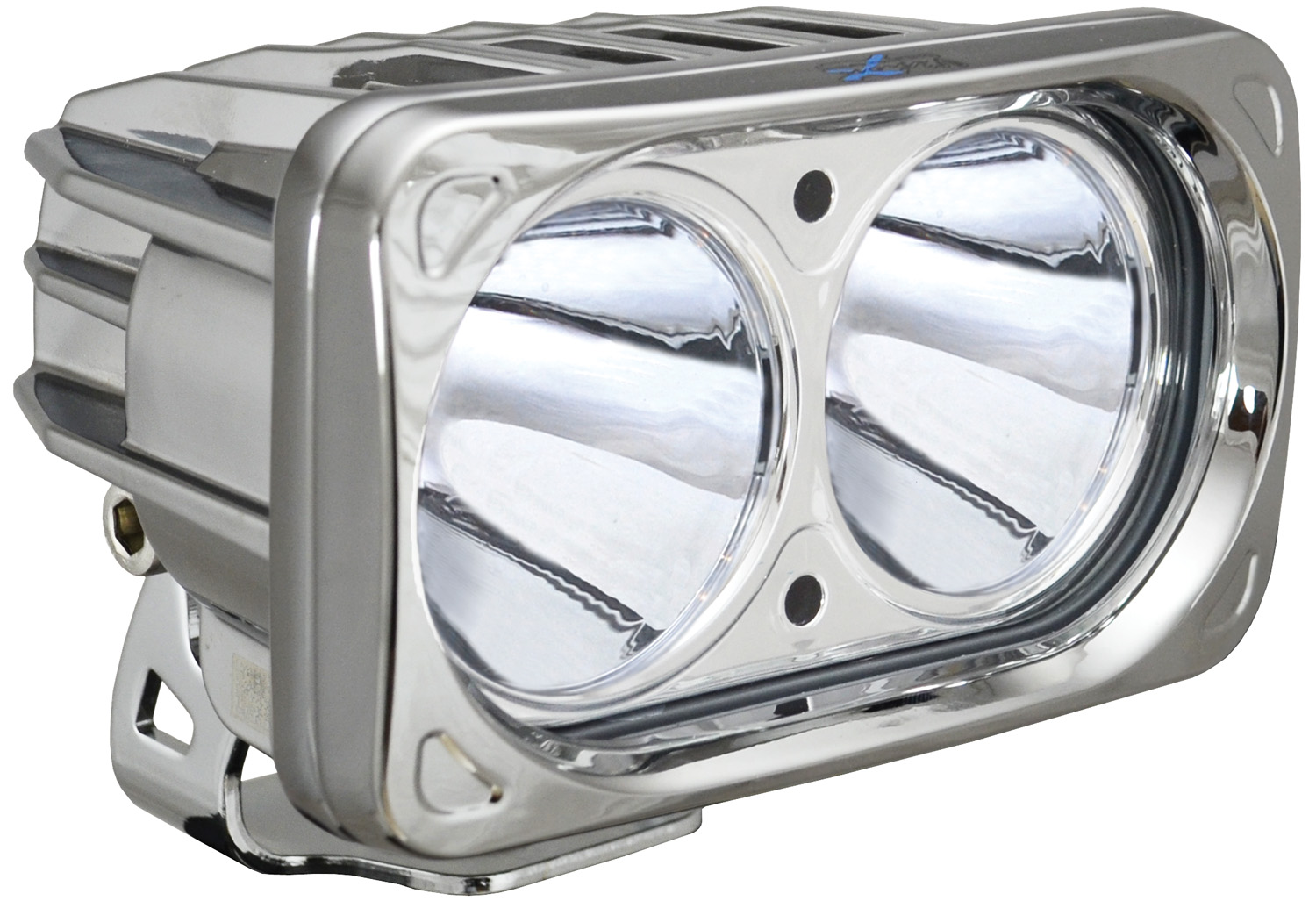 OPTIMUS SQUARE CHROME 2 10W LEDS 10° NARROW