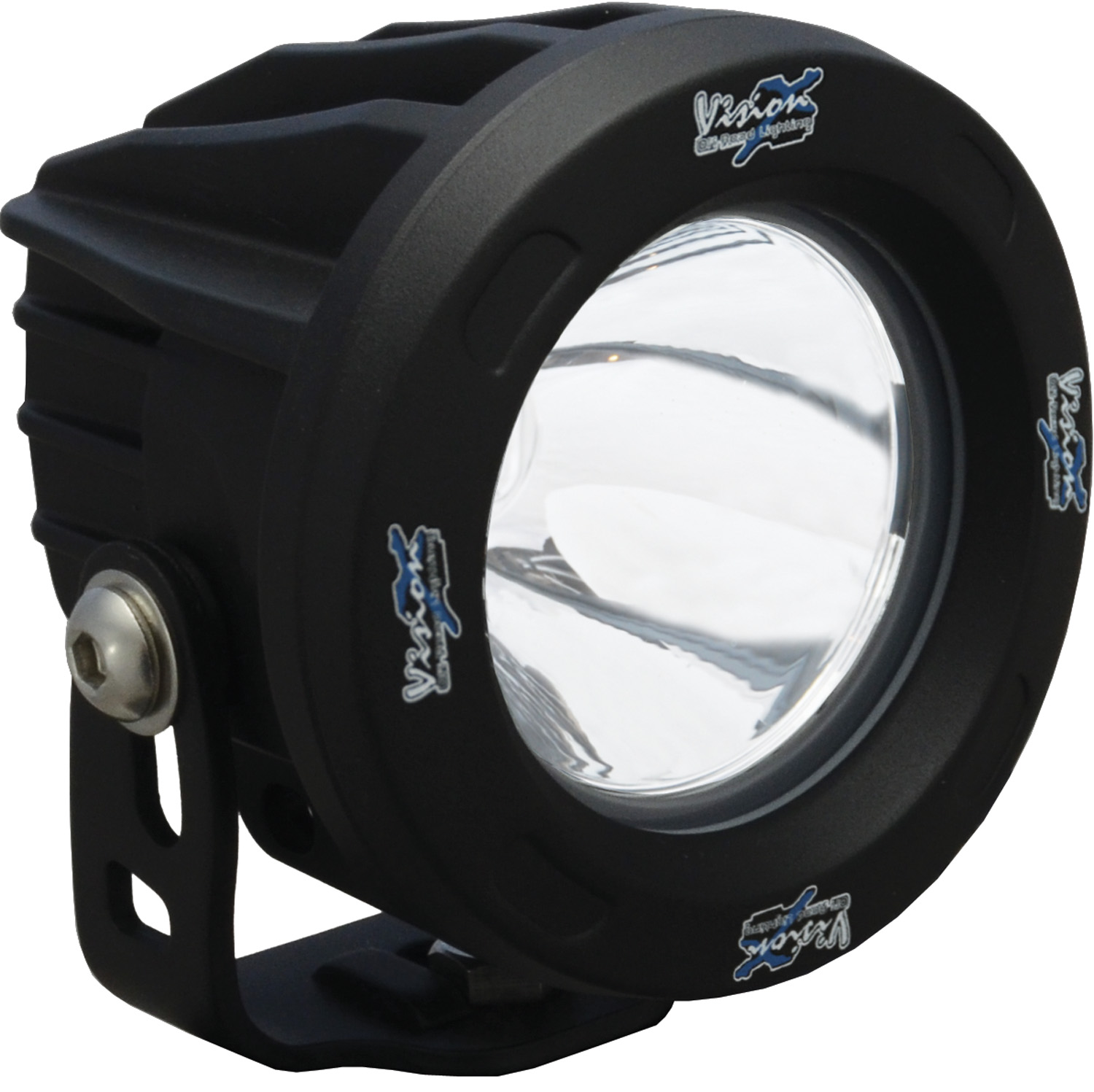 OPTIMUS ROUND BLACK 1 10W LED 10ç NARROW