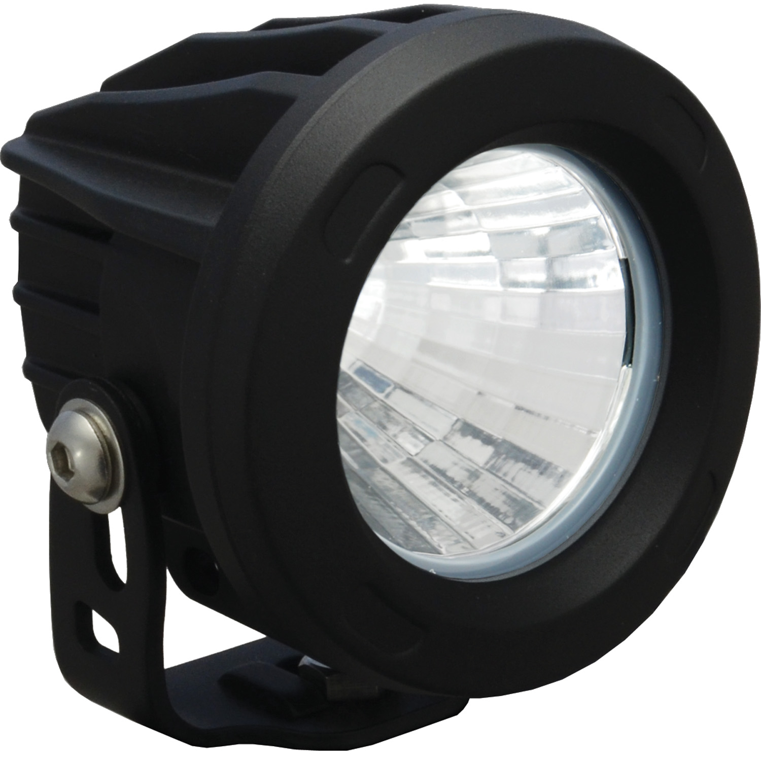 OPTIMUS ROUND BLACK 1 10W LED 20ç MEDIUM