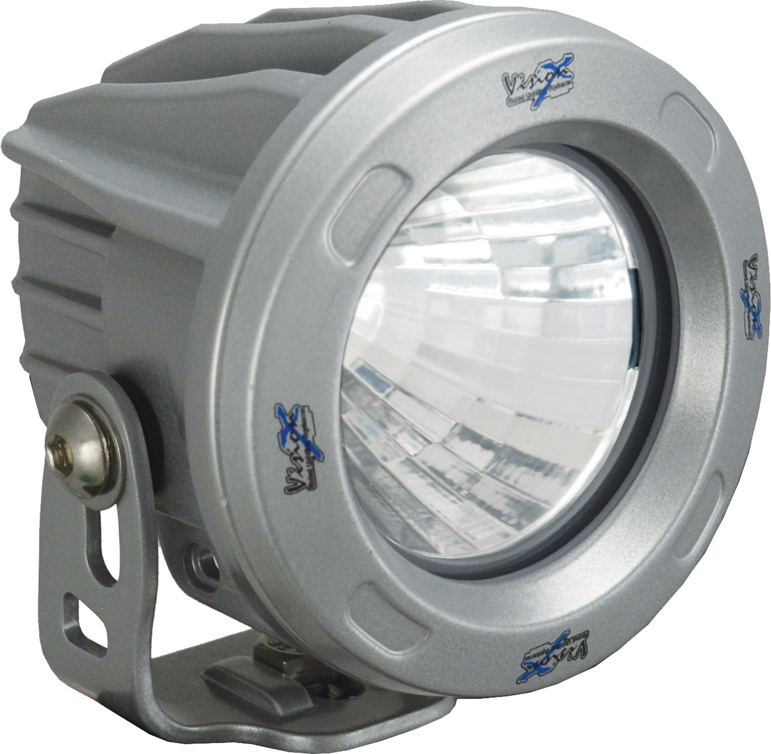 OPTIMUS ROUND SILVER 1 10W LED 20ç MEDIUM