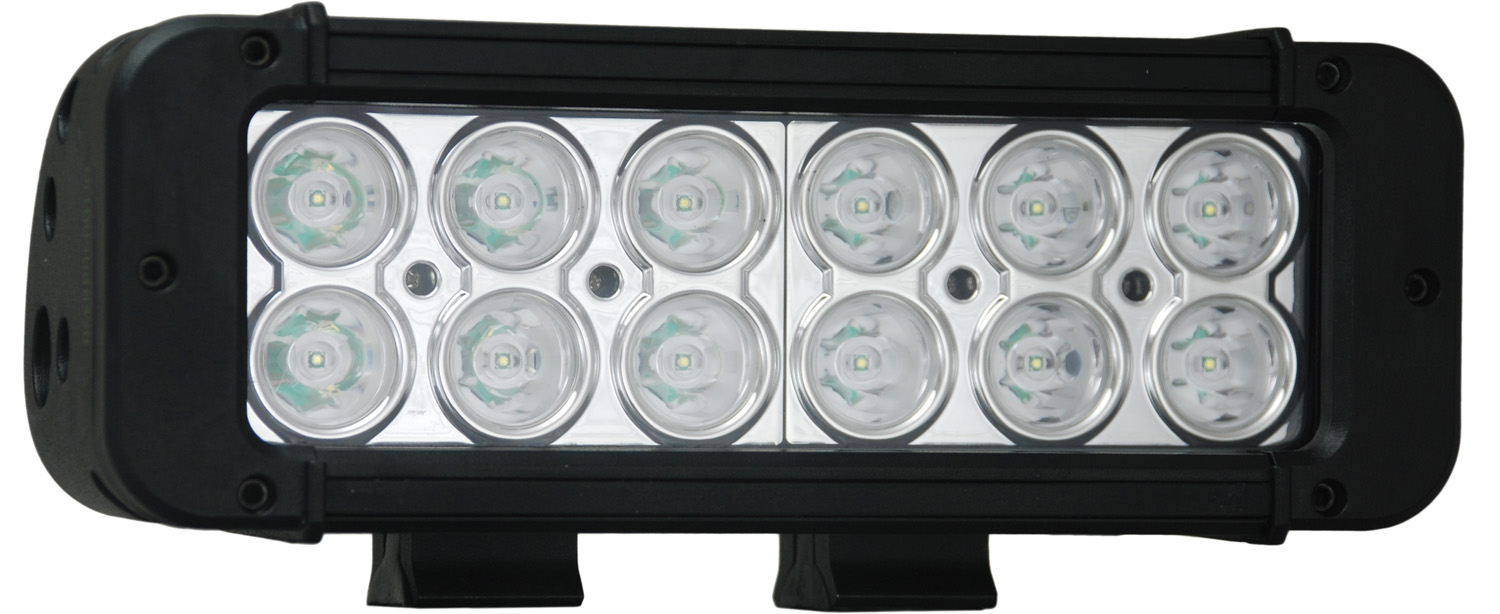 "8"" XMITTER PRIME LED BAR BLACK TWELEVE 3-WATT LED'S 10 DEGREE NA"