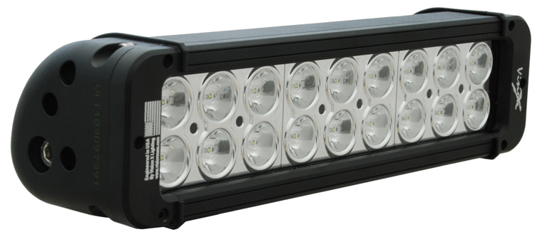 11 inch XMITTER PRIME LED BAR BLACK EIGHTEEN 3-WATT LED'S 10 DEGREE