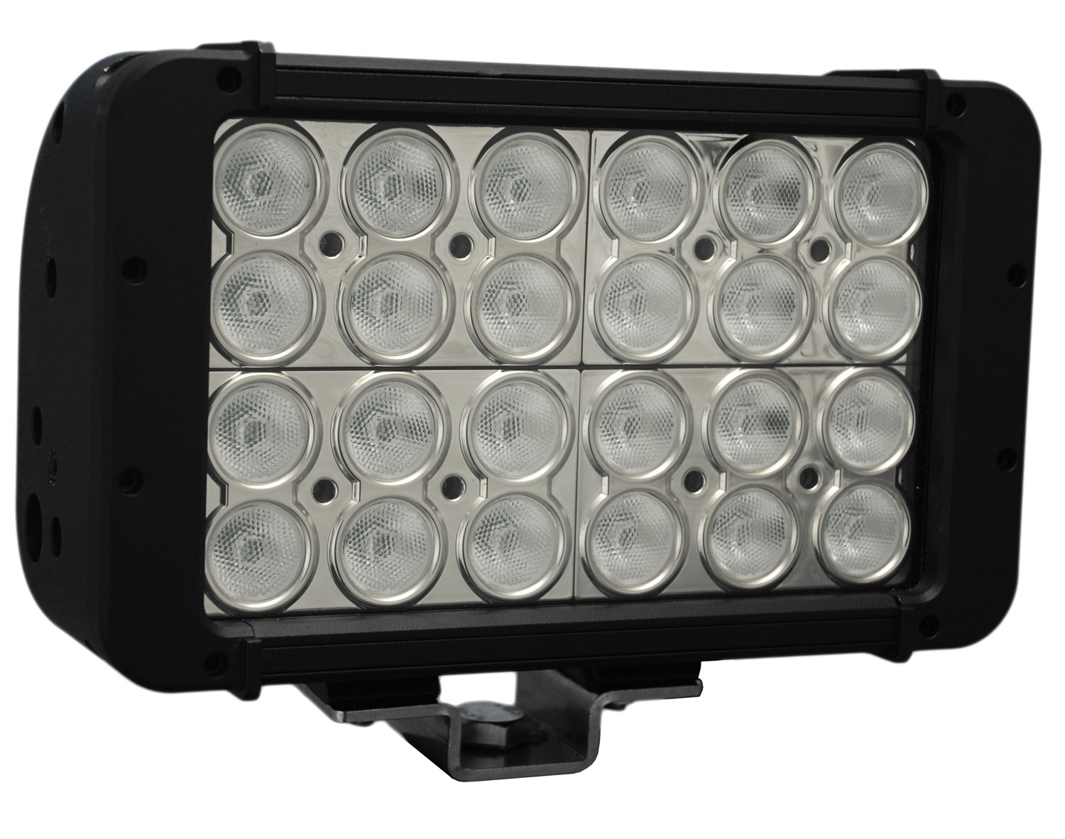"8"" XMITTER PRIME DOUBLE STACK LED BAR BLACK TWENTY FOUR 3-WATT L"