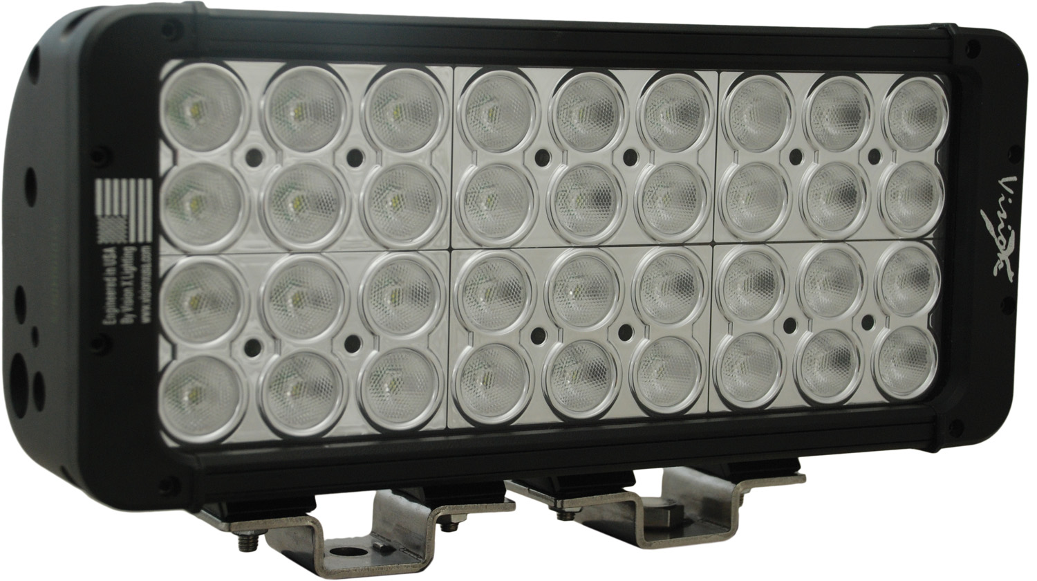 "11"" XMITTER PRIME DOUBLE STACK LED BAR BLACK THIRTY SIX 3-WATT L"