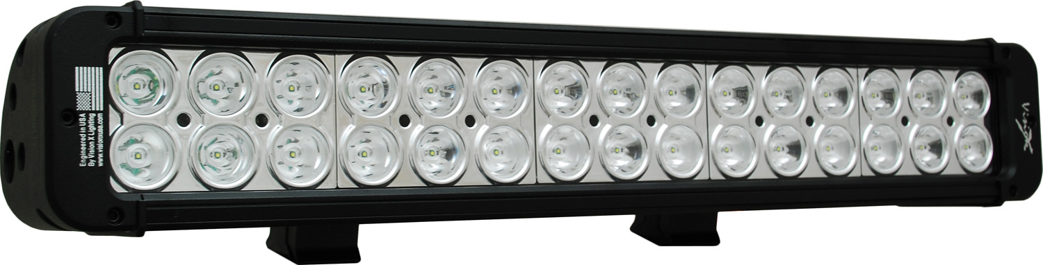 "18"" XMITTER PRIME LED BAR BLACK THIRTY 3-WATT LED'S 10 DEGREE NA"
