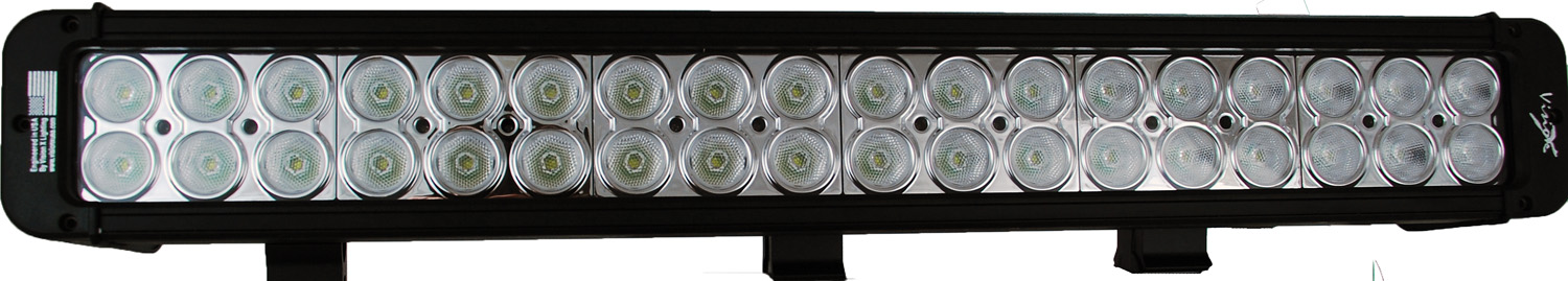 30 inch XMITTER PRIME LED BAR BLACK FIFTY FOUR 3-WATT LED'S 10 DEGRE