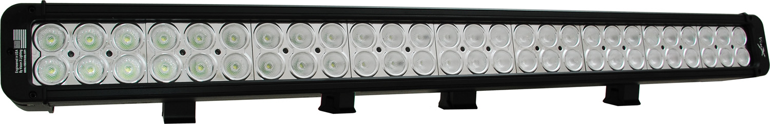 30 inch XMITTER PRIME LED BAR BLACK FIGHTY FOUR 3-WATT LED'S 40 DEGR