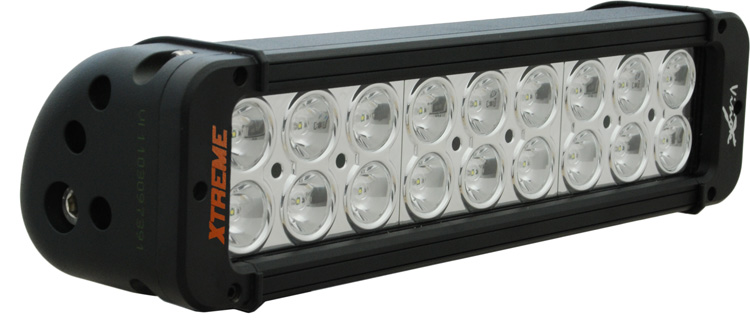 "11"" Xmitter Prime Xtreme LED Bar Black Eighteen 5-Watt LED's 10"