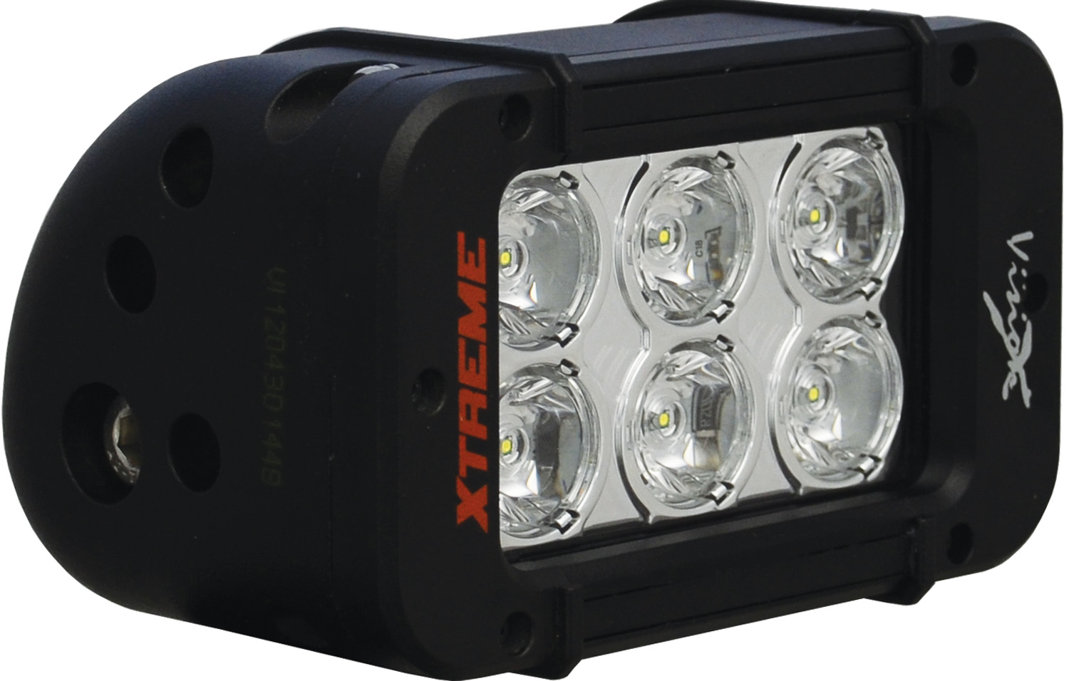 "5"" XMITTER PRIME XTREME LED BAR BLACK 6 LED'S 10ç NARROW"